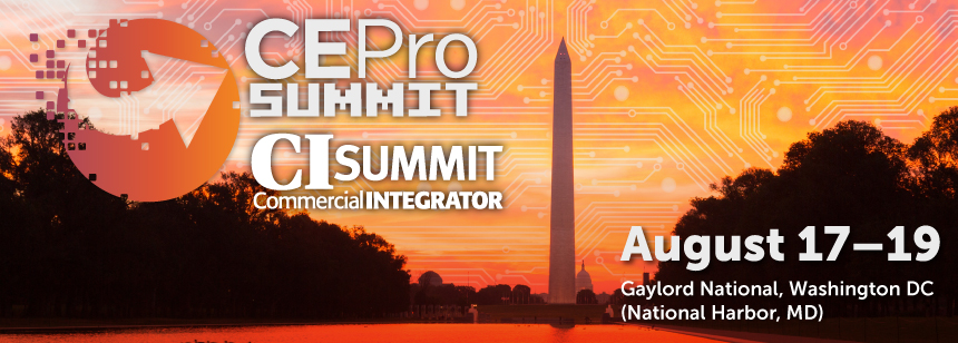 CE Pro and Commercial Integrator Summits